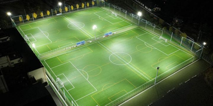 照明(投光器)納入事例 埼玉県サッカー協会 SFAフットボールセンター PIKA8×72台